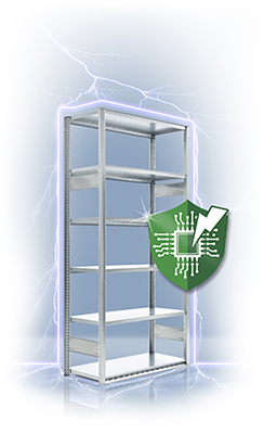 HI280 Shelving System Conductivity Tests