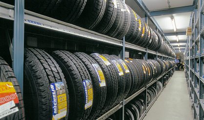 Vertical Tyre Storage